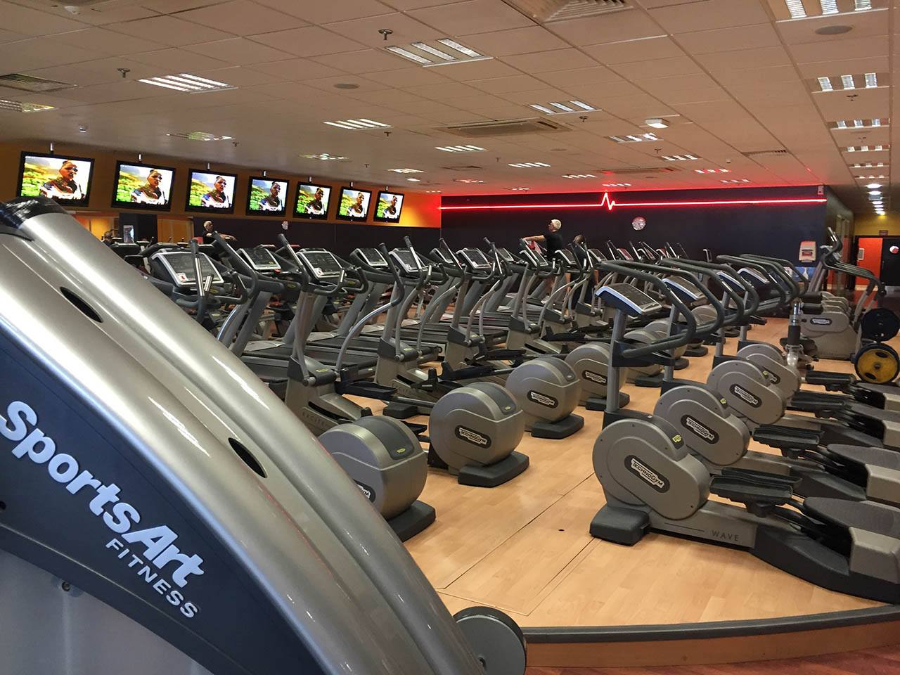 Espace Cardio-Training de Fitness Plus