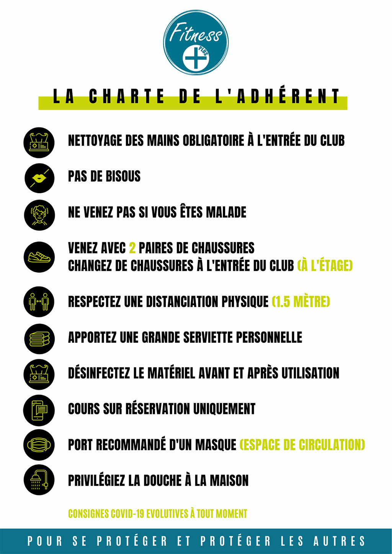Charte Adhérent